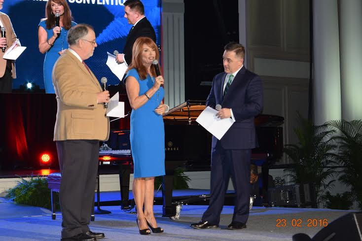 Bob Lepine, Roma Downey, & Dr. Jerry Johnson